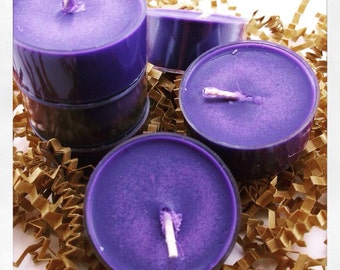 Love Spell Tealights, Soy Tealight Candles, Soy Tealights, Scented Soy Tealights, Love Spell Candle, Natural Tealights, Organic Candles