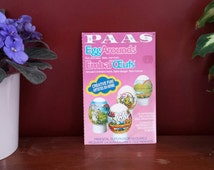 Egg wrappers, easter egg decor, 3 decorating, egg wraps, egg around,  vintage egg wraps