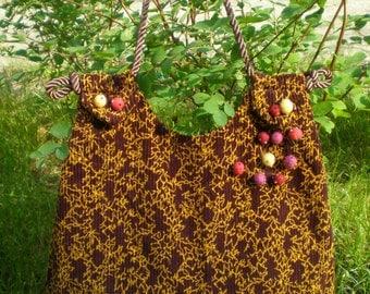 Pompom Bag Handmade