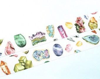 Minerals washi tape (W006)
