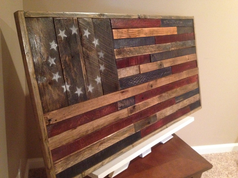 Reclaimed Wood American Flag,Handmade Wood Flag,Rustic Home Decor,Reclaimed  Wood, - Reclaimed Wood American FlagHandmade Wood FlagRustic Home