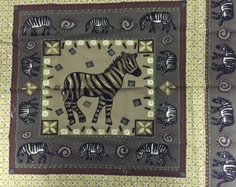 Zebra Fat Quarters