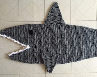 Shark Blanket Etsy