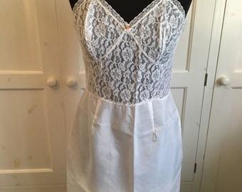 Original zip back 1930s petticoat.