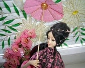 "OOAK Art doll ""Chinese Noble Lady""  porcelaine clay unique doll Author Interior Doll handmade"
