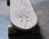 Solid Oak Cruiser Board, Longboard, Solid Wood, Wood Longboard, Handmade Longboard, Cruiserboard