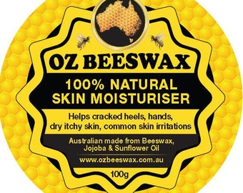 100% Natural Beeswax Moisturiser