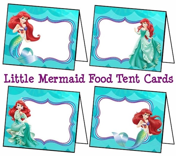 Ariel Birthday Invitations for best invitations template