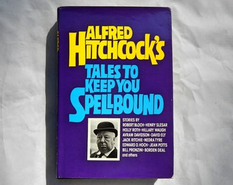 Alfred Hitchcock's Tales To Keep You Spellbound Vintage Hardcover Book