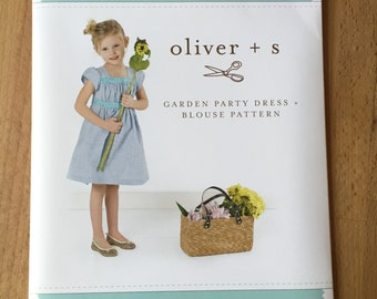 Oliver + S - Garden Party Dress in Small - UK Seller