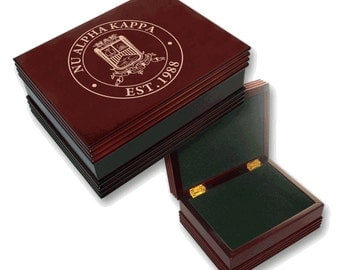 Nu Alpha Kappa Engraved Keepsake Box