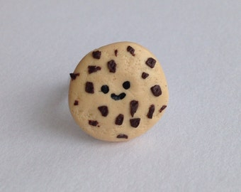 Cookie Ring ~ Adjustable ~ Made in Wales