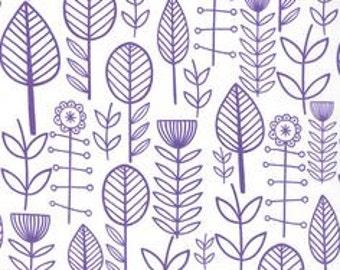 1 YD - Summersville Spring (purple) by MODA