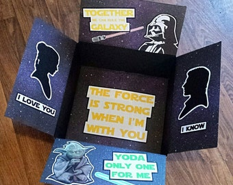Care Package Box- Galaxy
