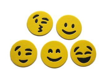 Paper Emoticon  Die Cuts set of 25