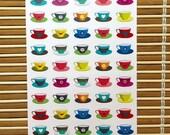 S168 - 50 Tea Cup Planner...