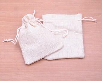 Hemp drawstring bags   Etsy