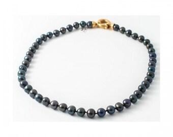 Mineralife natural Tahiti pearls necklace