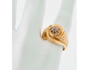 Ring Mineralife whirlwind of 1950 in rose gold and diamond