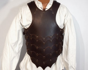Dragon slayer leather armor, larp, medieval