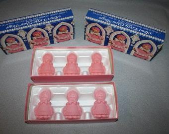 2 Boxes Vintage Avon Choir Boy Christmas Soap Bars