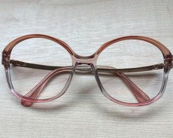 1970's Women's Vintage Eyewear Frames, Plastic Spectacles/Glasses