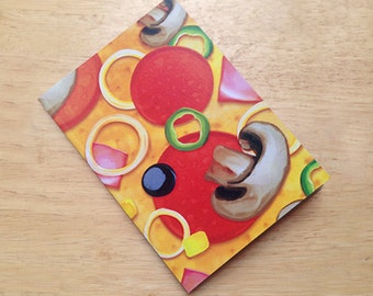 Hot Pizza - A6 Notebook