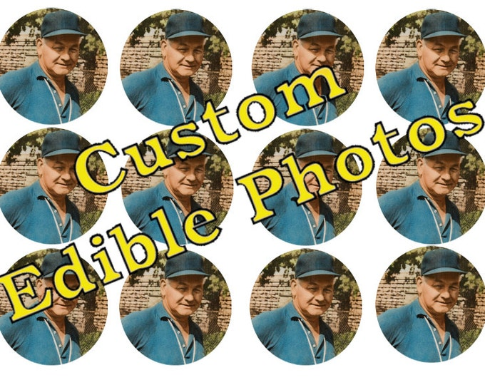 Edible Photos for Cakes, Cupcakes and Cookies - Wafer Paper or Frosting Sheet