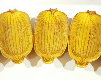 California Pottery Corn on the Cob Dish