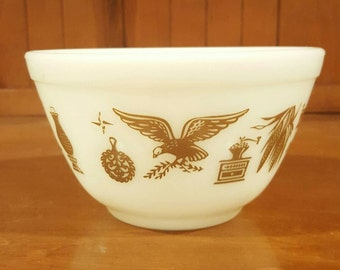 Pyrex Early American Mixing Bowl