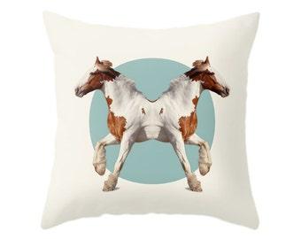 Horses Pillow - Double Animals