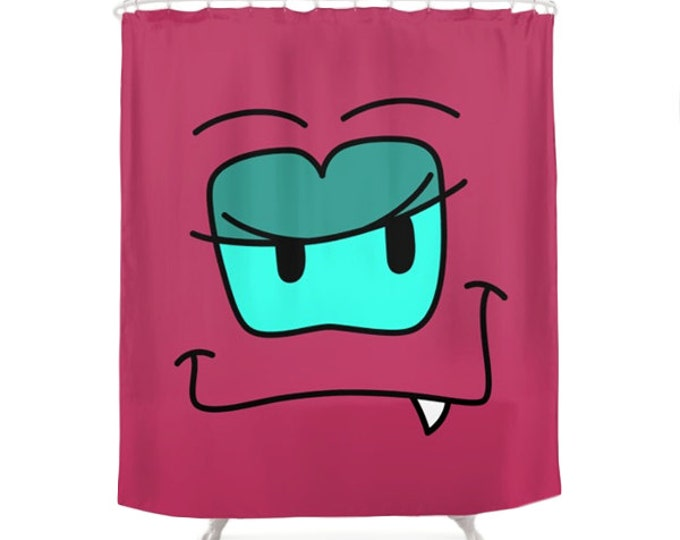 Luu Shower Curtain - Monsters