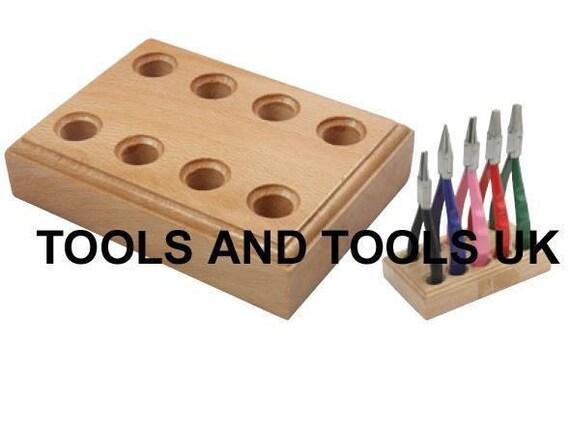 Madera soporte para alicates estante joyeros herramienta - Organizador de herramientas ...