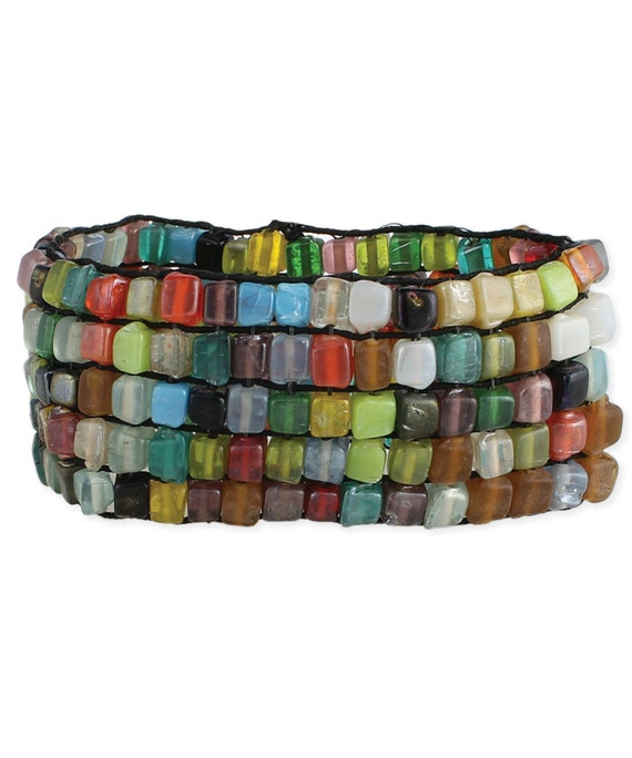 Spectrum Bead Stretch Bracelet