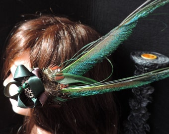 "Barrette-inspired steampunk ""The Green Lady"""
