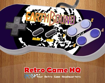 SNES - Earthbound - Controller Overlay (Controller Not Included)