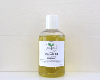 Baby Massage Oil, Sweet Baby, 100% Natural