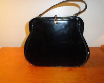 Vintage Morris Moscowtz Black Purse
