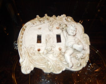 CHERUB ELECTRICAL WALL Plate