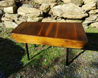 Grist Mill Feed Chute Coffee Table