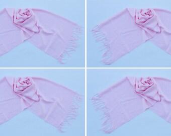 4 LIGHT PINK PASHMINA,pashmina scarf,pashmina shawl,bridesmaid shawls,Pashmina Wedding,scarf, shawl, scarves 013