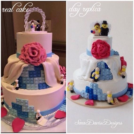 Wedding Cake 101 An Introduction To Wedding Cakes: Wedding Cake Replica 1st Anniversary Gift By SaraDavisDesigns