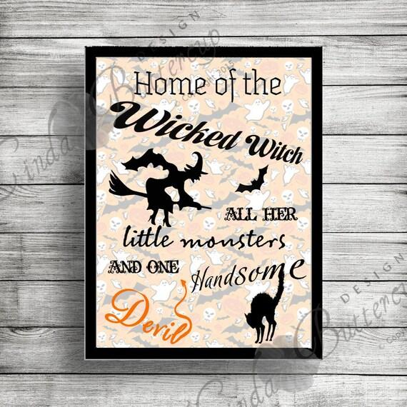 Decorating Ideas > Halloween Printable Halloween Door Decor By  ~ 045651_Halloween Door Signs Printable