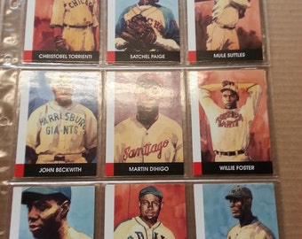 1990 Eclipse Stars of the Negro Leagues - Trading Card Set