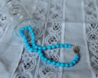 Turquoise, bracelet, made in Italy, gemstones