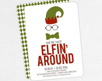 funny christmas party invitations adult christmas party invitations elf christmas party invitations elfin - Funny Christmas Party Invitations