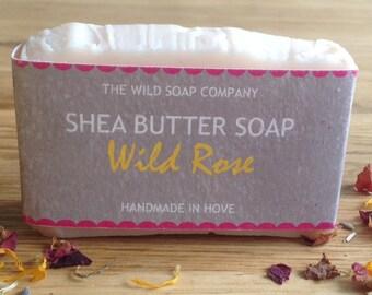 Handmade Wild Rose Soap