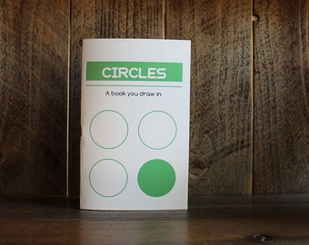 Circles - A book you draw in