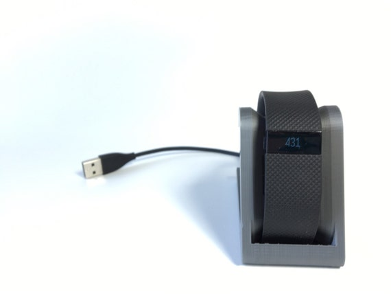 Fitbit Charge Hr Docking Station Fitbit By Mirandamorgandesign