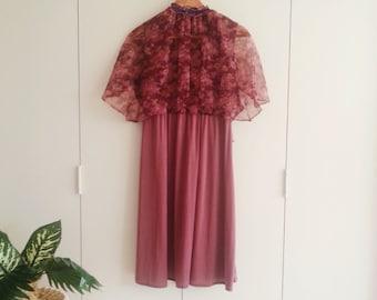 SALE - Vintage Dress - Retro Fashion - Vintage Clothing - 70s - 70s Fashion